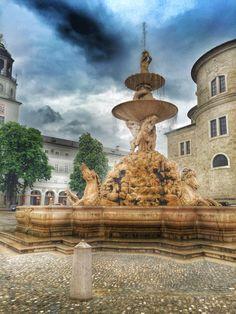 Residenzbrunnen, Salzburg, Austria