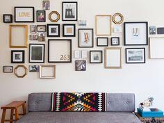 The Big Reveal | Homepolish - How to Hang Artwork | Everywhere | #photogallery #artwork #frame