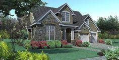 French Country Homes