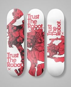 TrustTheRobot® Skateboard Decks in TrustTheRobot®