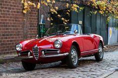 Just Listed: 1962 Alfa Romeo Giulietta Spider Veloce - Automobile Magazine Alfa Romeo Giulietta Spider, Alfa Romeo Spider, Alfa Romeo Giulia, Maserati, Bugatti, Lamborghini, Ferrari, Alfa Romeo Gtv 2000, Alfa Romeo Gtv6