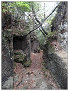 a rock path