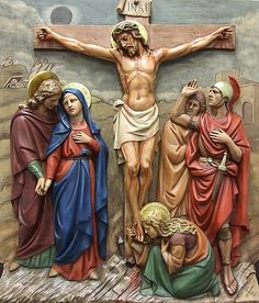 BEAUTIFUL stations of the cross!!