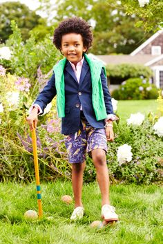Classic Ralph Lauren style for boys in springtime colors
