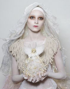 RELIGIOUS ICONS EDITORIAL FOR NO.ISE MAGAZINE | NOVEMBER 2010 CANNES FASHION PHOTOGRAPHY FESTIVAL | JULY 2011 PHOTOGRAPHER | LUCIA GIACANI MAKE UP & STYLING | AARON HENRIKSON #religousicons #luciagiacani #makeup