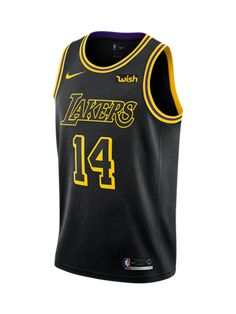 Los Angeles Lakers Brandon Ingram City Edition Swingman Jersey Basketball  Uniforms c23ada084