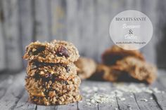 Biscuits ultra santé Biscuit Cookies, Cookie Desserts, Creative Cakes, Healthy Treats, Clean Eating Snacks, Granola, Delish, Good Food, Brunch