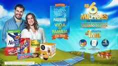 Promoção Nestlé - Vida em Família Faz Bem on Behance