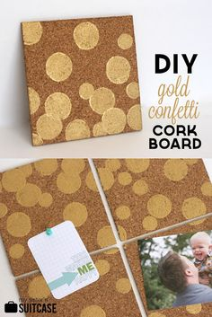 Bring the gold trend into your home without spending a lot of money or doing anything permanent! Easy project for $6.00!