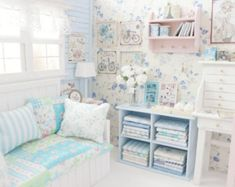 Heart of Mori Bedroom Diorama от MoonchildSilverdream на Etsy