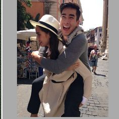 nadech-kugimiya-yaya-urassaya-travellers-companion-sept-issue Celebrity Couples, Panama Hat, Actors & Actresses, Thailand, Celebrities, Cute, Photography, Relation Ship, Wallpaper