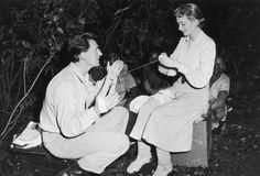 Deborah Kerr y Stewart Granger