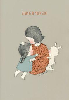 Korean Illustration, Illustration Sketches, Children's Book Illustration, Pretty Art, Cute Art, Bunny Art, Sketch Painting, Acrylic Painting Canvas, Doodle Art