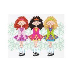 Irish Dancing Girls - cute