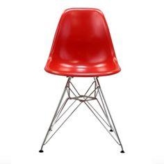 Paris wire side chair. Comes in red green orange white black light blue. FUN