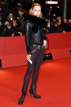Pin for Later: Das war die 65. Berlinale - seht hier die besten Bilder! Tag 6 Andrea Sawatzki