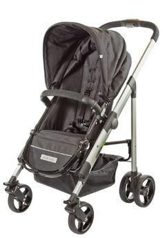 guzzie+Guss Denman Stroller, Black | Best Baby Stroller Reviews - The G+G Denman stroller has what every parent wants, reversible seat, large canopy, rain cover, and to top it all off we designed a truly one hand fold