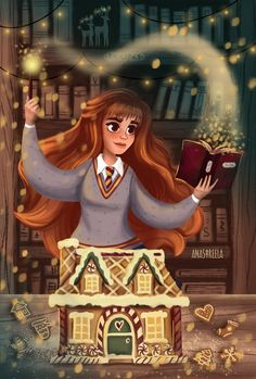 Digital Illustration Hermione Granger