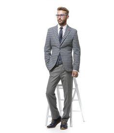 Negli impegni di lavoro, in occasioni speciali, nel tempo libero, esalta e reinventa il tuo stile con giacca e pantaloni classici, tornati di moda attraverso nuovi dettagli.Gilet accessorio fashionPratico e divertente il morbido Gilet in jersey nei toni mélange.