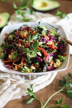 The Ultimate Detox Salad | Full of vitamins and antioxidants