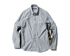 SOPHNET. | PRODUCT | CAMOUFLAGE TAPE LINE B.D SHIRT