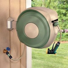 1000 Ideas About Hose Reel On Pinterest Garden Hose