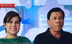 President Rodrigo Duterte takot mabugbog ni Mayor Inday Sara Duterte-Carpio