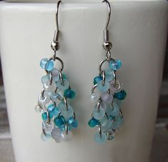 Chain maille is a long-standing tradition in the jewelry world. This collection, Chainmaille Jewelry Projects 12 DIY Earrings, contains a plethora of fabulous chainmaille earring projects that you are sure to adore. Dangly Earrings, Bead Earrings, Cluster Earrings, Earrings Online, Shell Earrings, Chandelier Earrings, Gemstone Earrings, Beaded Necklace, Chainmaille