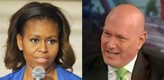 """Fox's Ablow Again Hits Michelle Obama Over """"Two-Faced"""" Hypocrisy with Her """"Let's Move!"""" Campaign -- """"I'm not taking food advice from an American who dislikes America, who in many photographs during her tenure as first lady is obviously not fit, and who has a record of saying things that show that she's two-faced,"""" Ablow said Wed. """"This should be obvious; I don't know why it isn't."""" .. """"..the first lady during her tenure has not been consistently a picture of fitness,"""" he said. [...] 08/14"""
