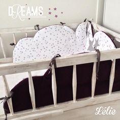SUR COMMANDE Tour de lit nuage : Linge de lit enfants par chez-lelie