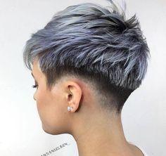 coupe courte cheveux fin : 25 modèles hyper stylés de coupes courtes pour femmes | Coiffure simple et facile