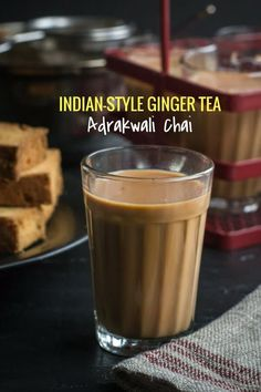 Indian style 524528687847341206 - Indian Chai Tea Recipe with ginger (Adrak Chai) – With its bold flavor and simmering warmth, this homemade ginger chai tea is an alluring drink any time of the day. Source by miracska Tea Recipes, Cocktail Recipes, Indian Food Recipes, Vegetarian Recipes, Drink Recipes, Snacks Recipes, Brunch Recipes, Cocktails, Chai Tea Recipe