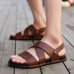 fa8ab73bde5d A2207 Casual Hook-Loop Shoes. Touchy Style. Shoes Flats SandalsMen s ...