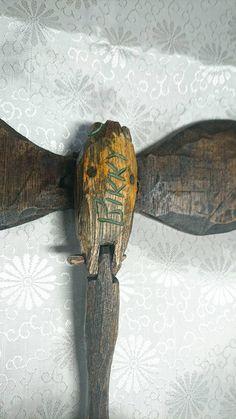 砂澤ビッキ作「樹蝶」貴重な「直筆題紙」付き「ご遺族鑑定済み」_画像4