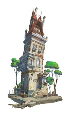 ArtStation - KIO building, Gwon Hyeok su