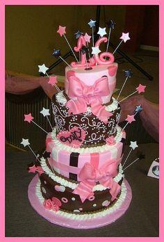 16th Birthday cake