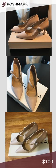 c093b17e253 Via Spiga Camilla High Heel Leather Shoes I wore this shoes at my  courthouse wedding with