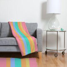 Lisa Argyropoulos Tropical Sundae Fleece Throw Blanket | DENY Designs Home Accessories