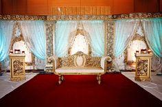 very ornate mandap