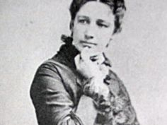 Victoria Woodhull, the first female candidate for the presidency - 1872.