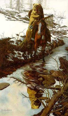 Bev Doolittle Prints | Spirit of the Grizzly Prints by Bev Doolittle at ArtPrints.com