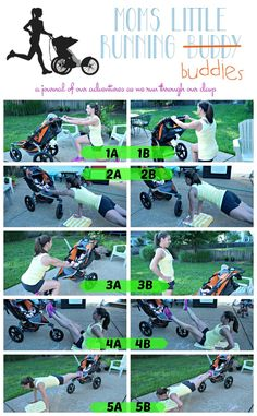 Mom's Little Running Buddy: Mommy and Me: Stroller Workout fun running ideas, running ideas half marathons, running ideas workout Post Baby Workout, Post Pregnancy Workout, Mommy Workout, Fit Pregnancy, Jogging Stroller, Body After Baby, Post Baby Body, Stroller Strides, Sons