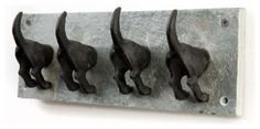 Puppy Dogs Tail Hooks eclectic hooks and hangers - this makes me laugh! would be great for leashes in a mud room