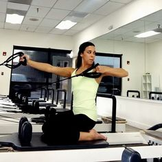 """""""Love this #fitspo from @powerpilatesuk!! Combining Bow and Arrow with a lift and lower of the pelvis is great for challenging #balance and #control. Use…"""" Pilates Body, Pilates Reformer Exercises, Pilates Workout, Pilates Routines, Workouts, Workout Exercises, Total Gym, Joseph Pilates, Boot Camp Workout"""