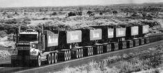 400 ton KENWORTH Road Train, Northern Territory
