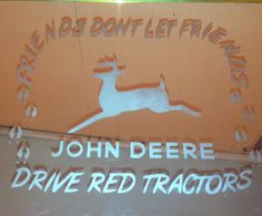 John+Deere+Mirror+Etching..Can+be+Personalized+by+RMGlassEtching,+$15.00