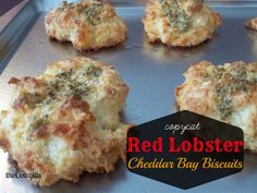 The Cowgill's : copycat Red Lobster biscuits