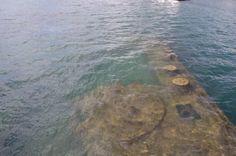The USS Arizona underwater Uss Arizona Memorial, December 7, Pearl Harbor, Hawaii Travel, Ww2, Underwater, Pearls, Outdoor, Outdoors