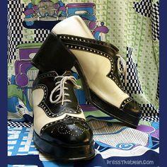 vintage mens 70s platform shoes