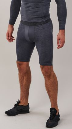 The Element Baselayer Shorts boast mesh ventilation to enhance your training potential. Coming soon in Charcoal.